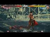 Киберспортсмен в Tekken 7 поменял разрешение на 720p для уменьшения лагов!