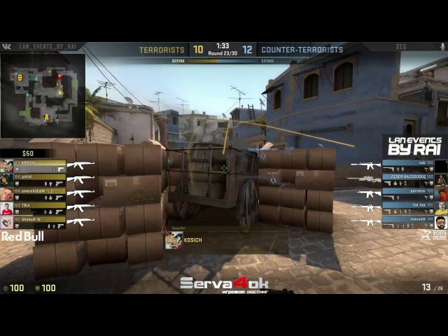 [12.03] CS:GO LAN MIX CUP 4 - Group stage - Showy mix vs Xab mix