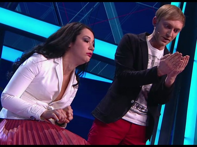 Comedy Баттл Ида Гайлич и Антон Каравайцев Экзорцист и девушка