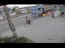Везучий велосипедист