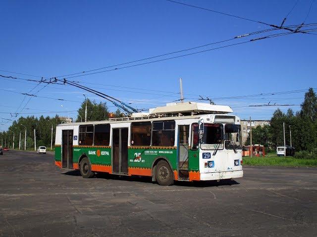 Рыбинск. Троллейбус ЗиУ-682 КР Иваново №29