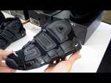 Видео обзор на THE SUPREME X NIKE AIR MORE UPTEMPO ALL BLACK от Saint P hustle