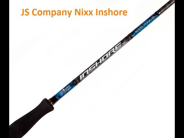 Спиннинг для ловли щуки JS NIXX Inshore
