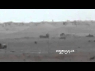 SYRIA T 90 Vs Anti tank missile