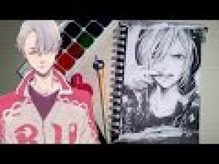 мой скетчбук/My art book №7 часть 3 (Yuri on Ice)