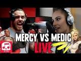 Mercy vs Medic Rap Battle LIVE by JT Machinima