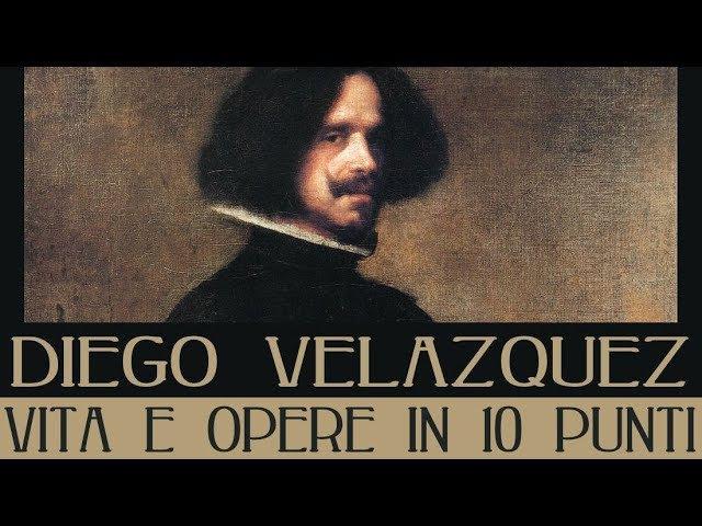 Diego Velazquez vita e opere in 10 punti