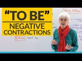 English Grammar Negative contractions of the verb