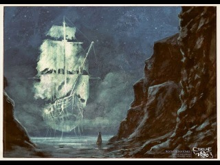 Морские легенды Корабль призрак