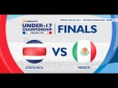 CU17PAN: Costa Rica vs Mexico