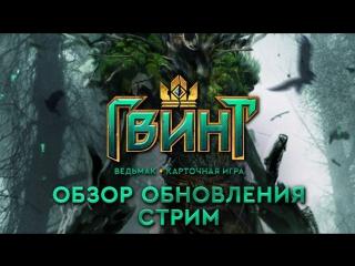 Гвинт: стрим с разработчиками в 22:00 МСК