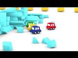 4 МАШИНКИ. Мультики для детей про машинки и Трактор! Мультфильмы для малышей. Развивающее видео