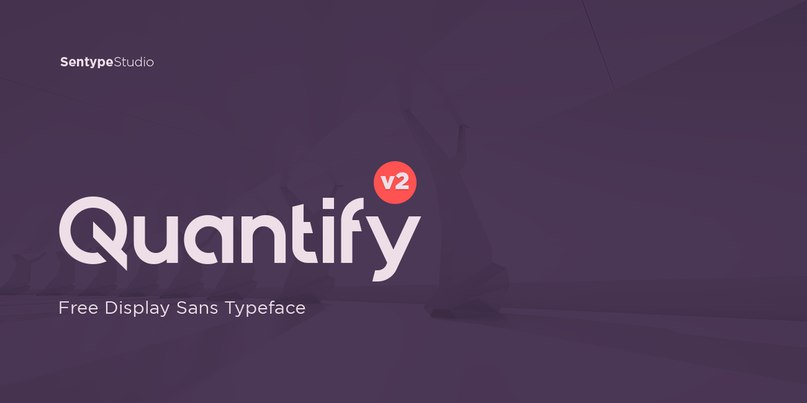 Download Quantify Bold font (typeface)