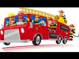 Мультики про Пожарные Машинки для детей Все серии подряд Развивающие мультфильмы про машинки