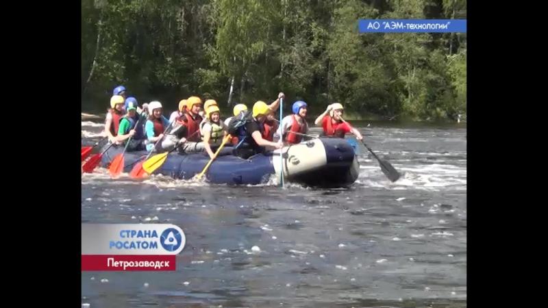 Рафтинг в Карелии - Петрозаводскмаш