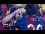 Барселона - Хетафе / гол Месси / 18.04.2007