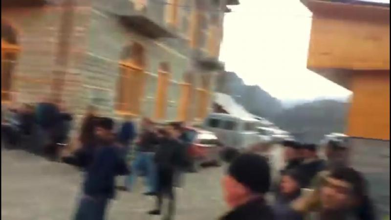 Azərbaycanın ən böyük tonqalı qalandı - İsmayıllı, Lahıcda!