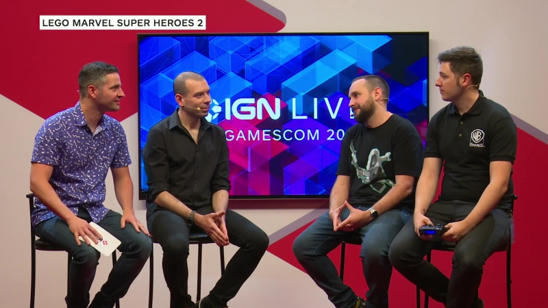 Gameplay LEGO Marvel Superheroes 2 на Gamescom 2017
