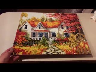алмазная мозаика Осенний пейзаж