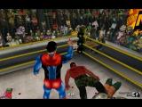 Бэтмен и Супермен против Халка и Красного Халка