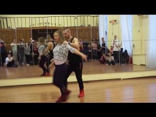 Bachata Sensual by Alexandr Nechayev & Yulia Fedorova, Lviv, December 2016