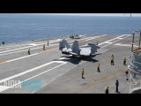 High-Speed Turns In An Aircraft Carrier Look Like A Hell Of A Lot Of FunTrim1
