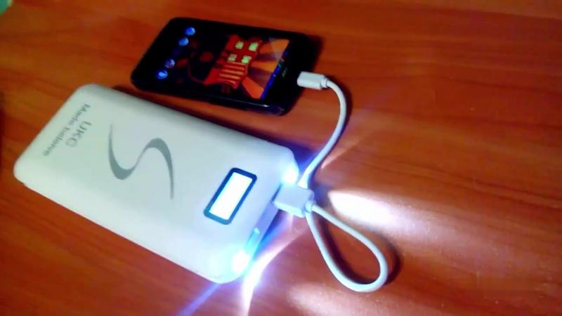 Power bank 30000 mAh LCD