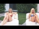Lindsey Pelas секси загарают гамак сиски не порно блондинки бестии жара большая грудь