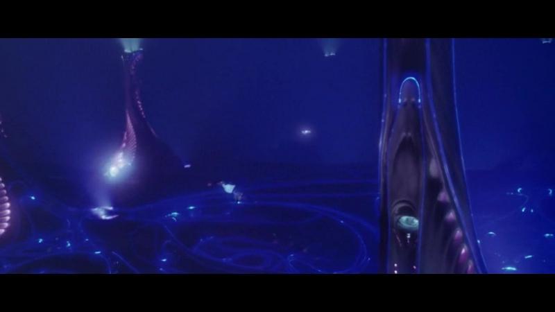 Отрывок из фильма Бездна Спасение Верджила Бригмана пришельцами