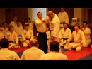 Ando Tsuneo Shihan 8 dan Yoshinkan Aikido Nikajo Osae Ogi