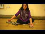 Kathak: Sonia Sabri demonstrates how to string Ghungroo.