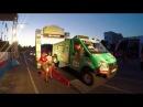 Торжественный подиум на Старте Чемпионата России по ралли -рейдам Великая Степ