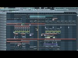 Hard bass Electro Trance Dubstep in FL Studio 10
