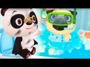 ТУАЛЕТ ЧЕЛЛЕНДЖ Крошки малыши в ванне Купаются Мультик Игра для детей Baby Care Fun Pl...