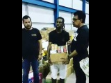 Jah Cure Donate Supplies To