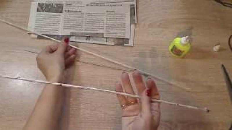 Как крутить трубочки из газет. Маленькие секреты для новичков