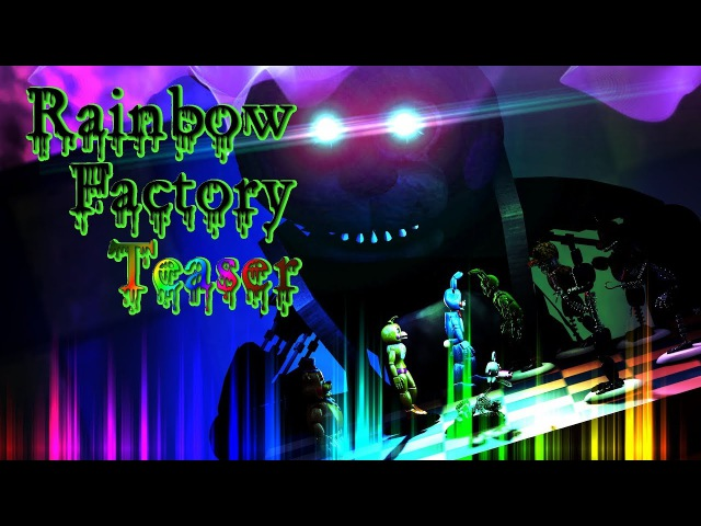 SFM / FNAF  Game Of Chess  Rainbow Factory Teaser Music - WoodenToaster