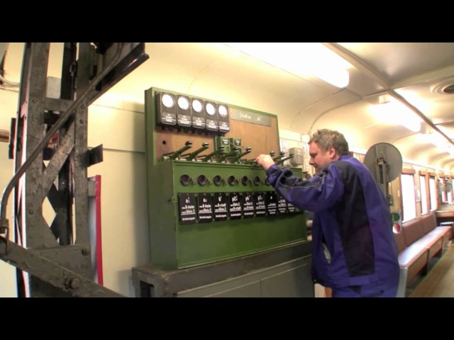 Lehrstellwerk im Eisenbahnmuseum Lokschuppen Aumühle