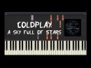 Coldplay - A Sky Full Of Stars - Piano Tutorial by Amadeus (Synthesia)