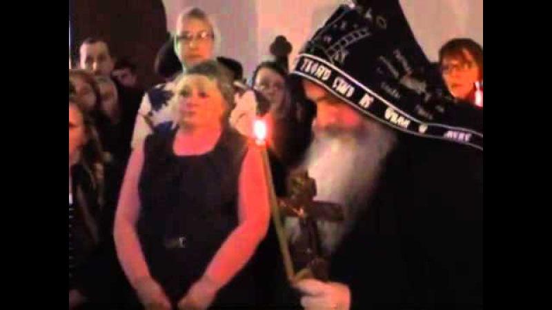 Постриг иеромонаха Ермогена в великую схиму с именем Ефрем 15 04 14
