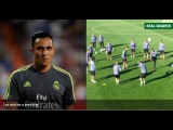 BBC producer discovers what happens if you piss Keylor Navas off during a training session