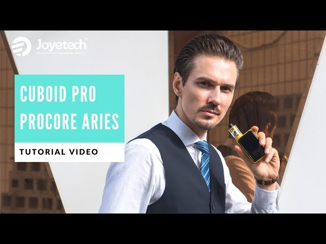 Get Started with Joyetech CUBOID Pro