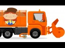 Doctor McWheelie and a snowplow Kids' cartoon with cars for kids