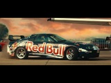 djuice Redbull Car Park Drift 2017