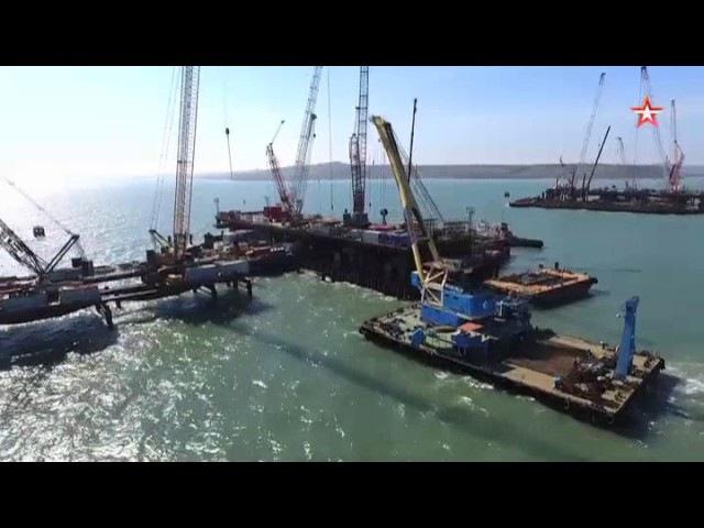 Крымский мост соединит берега пролива уже этой осенью