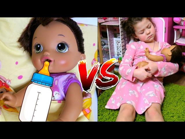 Куклы пупсики МАЛЫШ ОЖИДАНИЕ vs РЕАЛЬНОСТЬ КУКЛА БЕБИ БОН КРИСТИНА КАК МАМА