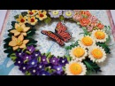 Quilled Flower Wreath Part 3: Quilled wreath/ Christmas wreath/ Christmas Decoration