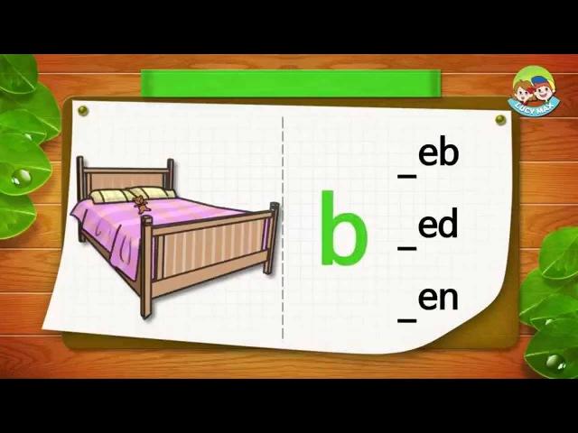 Phonics Step 2   Short Vowels   Lesson 4 short e (_ eb, _ed, _en)