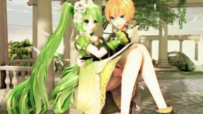 【MMD PV】悪のメイドMaid Of Evil Classical Version II - Hatsune Miku ・Kagamine Len(English / Romaji Sub)