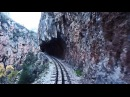 Cab Ride. Diakopto–Kalavryta rack railway | Οδοντωτός Σιδηρόδρομος Διακοπτό - Καλάβ&#